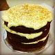 triple layer choc velvet cake