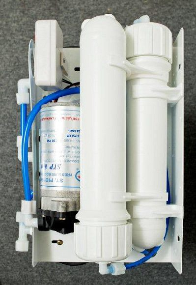 Top view of 350GPD RO Drinking System