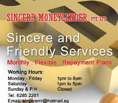 Sincere Moneylender Pte Ltd Photos