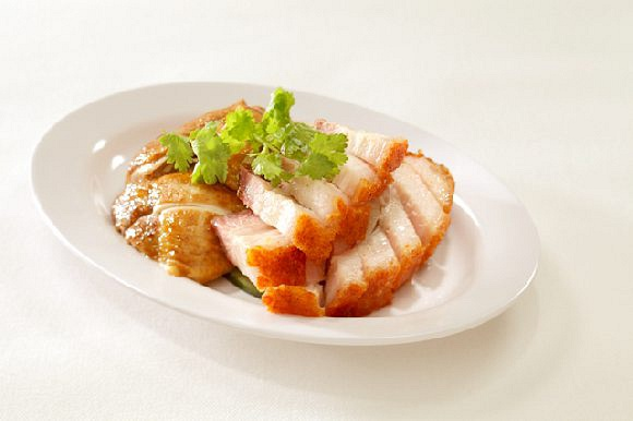 Roasted Pork and Soy Sauce Chicken 烧肉和油鸡