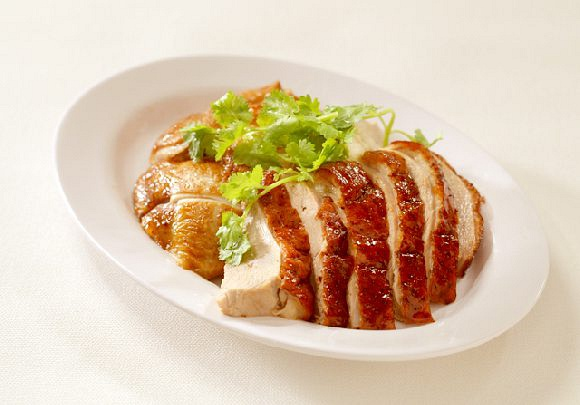 Roasted Duck and Soy Sauce Chicken 烧鸭和油鸡