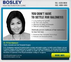 Bosley Hair Restoration Clinic Photos