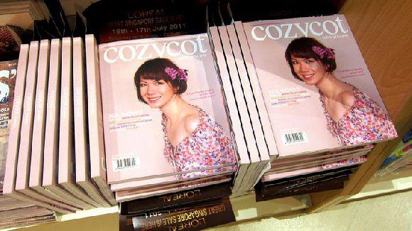 CozyCot Mook Launch