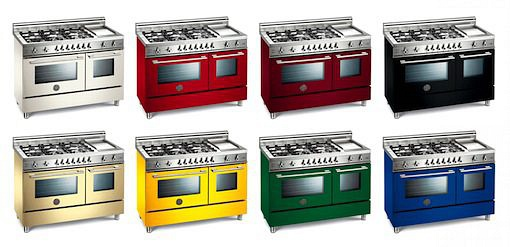 Free Standing Range Cooker 122CM 6 Burners + Griddle Electric Double Oven