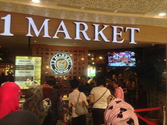 1 Market Big Buffet by Chef Wan (Plaza Singapura)