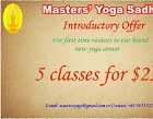 Masters' Yoga Sadhan Photos