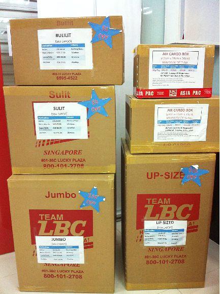 Lbc Aircargo (S) Pte Ltd (Lucky Plaza)