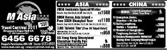 M Asia Travel Pte Ltd (People's Park Centre)