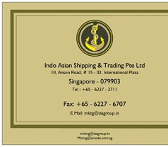 INDO ASIAN SHIPPING & TRADING Pte Ltd Photos