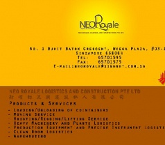 Neo Royale Logistics and Construction Pte Ltd Photos