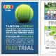 Tanglin Academy located at Turf City.  First private tennis centre equipped with 6 mini courts and 9 tournament courts.