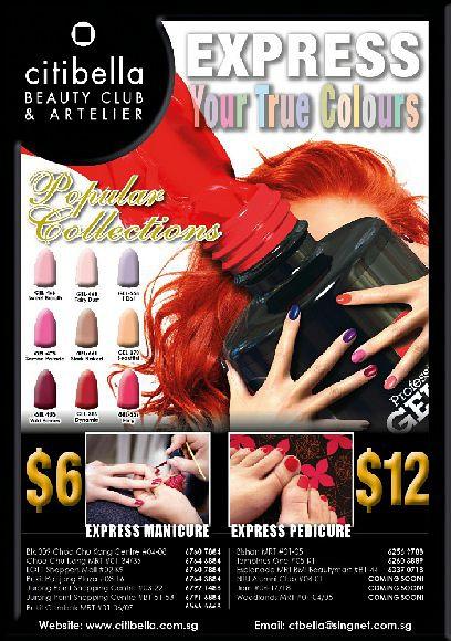 Express Manicure & Pedicure Special