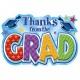 Shining Grad Thank You Cards
