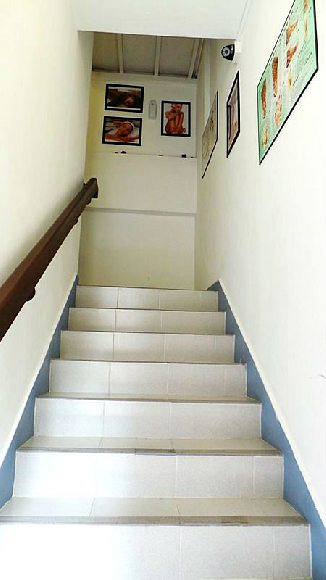 Staircase to Secret Wellness