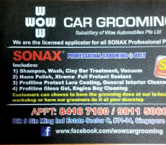 WOW Car Grooming Photos