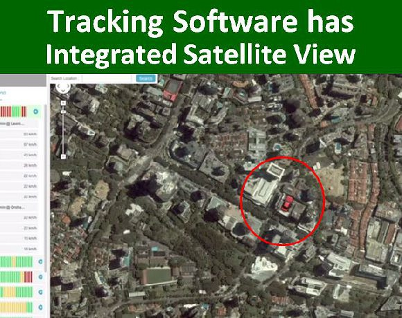 Comes with Satellite View