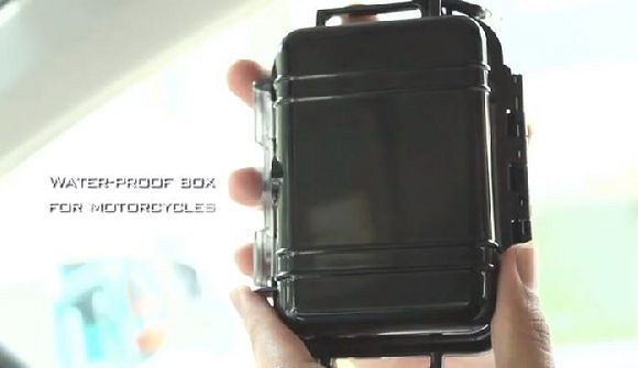 Waterproof Box for motorcycles