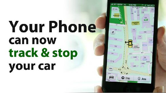 Your Phone can now Stop & Track Your car