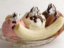 Dôme Banana Split