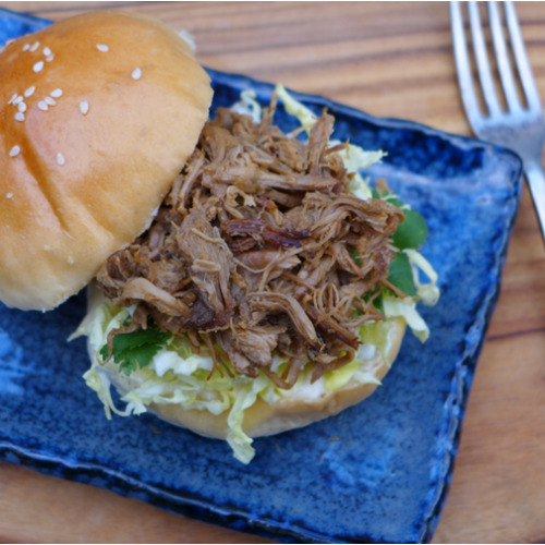 Spiced pulled pork