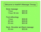 Healthfit Massage Therapy Photos