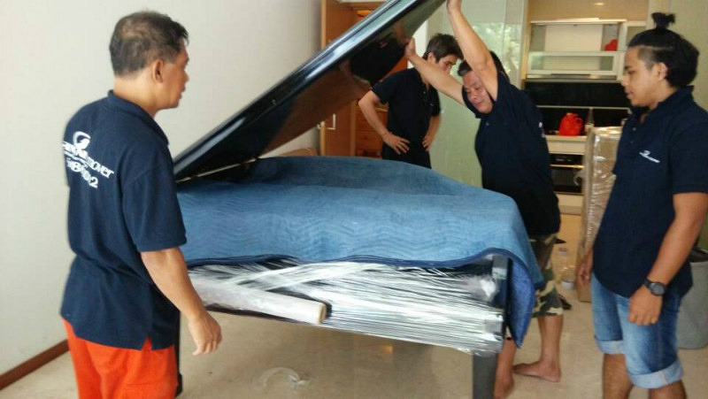 Moving of Grand Piano