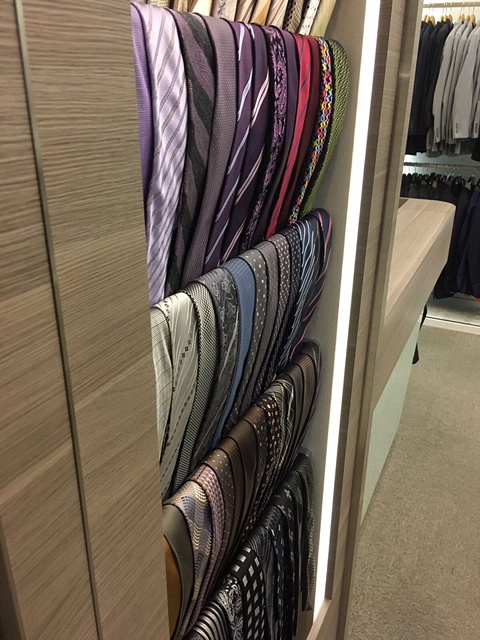 CYC Made to Measure Republic Plaza Tie Display