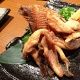 Makogarei No Kara Age (deep fried flat fish)