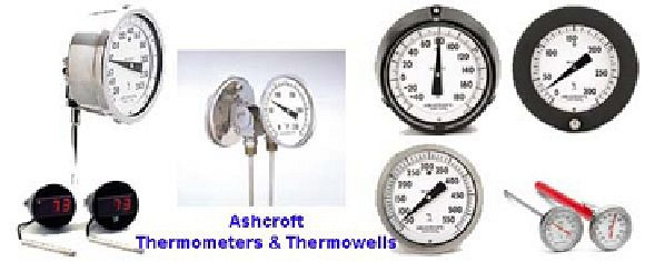 Ashcroft Thermometers & Thermowells