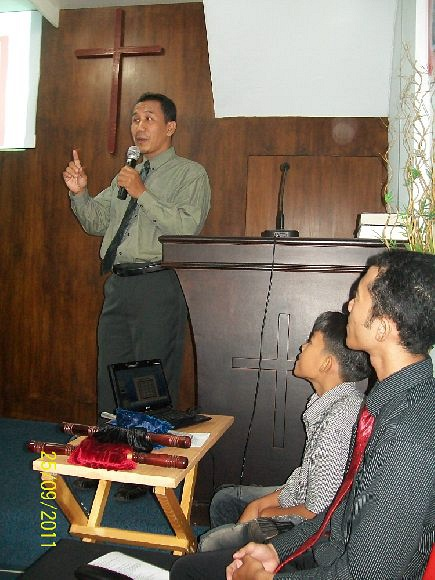 speech at GKN Rantau Padang