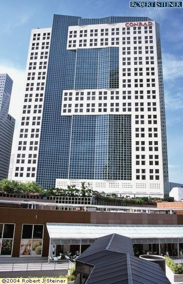 Main View Of Conrad Centennial Singapore Building Image Singapore