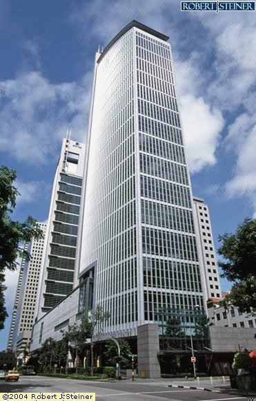 Main View of SGX Centre 1 Building Image, Singapore