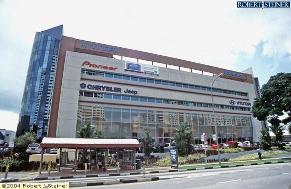 Front View Of Komoco Motors Hyundai Building Image