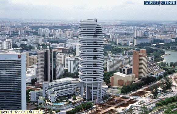 birds eye view of the concourse shopping mall building image singapore