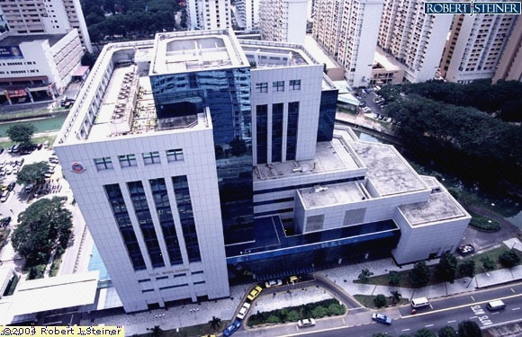 Top View Of ICA Building Building Image, Singapore