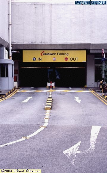 Car Park Entrance Of The Centrepoint Building Image Singapore