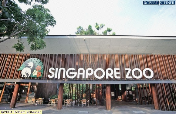 Front View Of Singapore Zoo Building Image Singapore