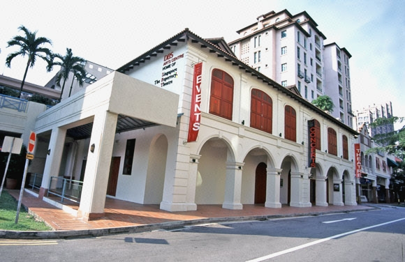 3cd08ced Main View of Singapore Repertory Theatre (DBS Arts Centre) Building ...