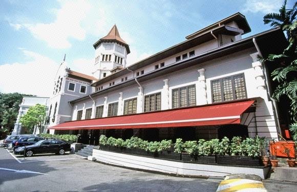 diagonal view of goodwood park hotel building image singapore. Black Bedroom Furniture Sets. Home Design Ideas