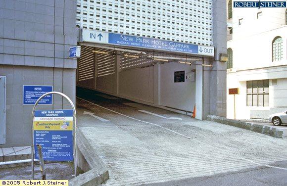 Mustafa Car Park Entrance