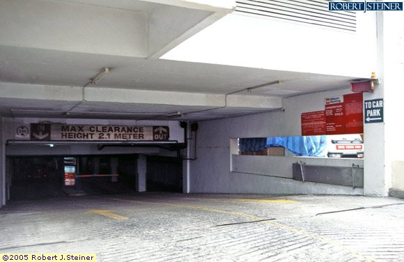 Raffles Hotel Car Park Height Limit