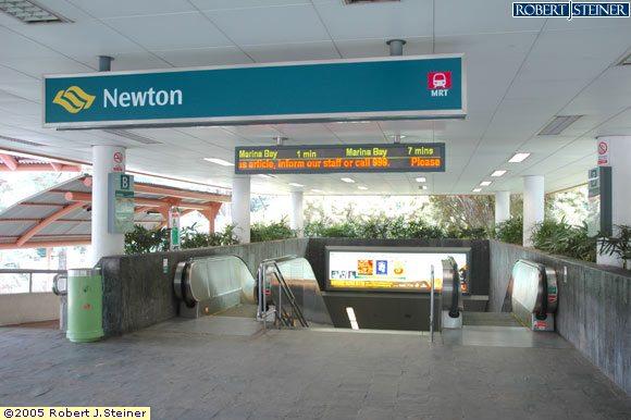 exit entrance image of newton mrt station  ns21    dt11