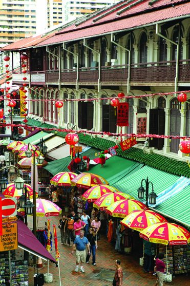 Chinatown Shophouses