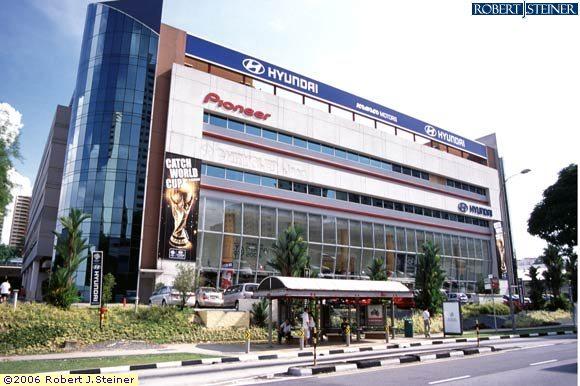 Main View Of Komoco Motors Hyundai Building Image Singapore