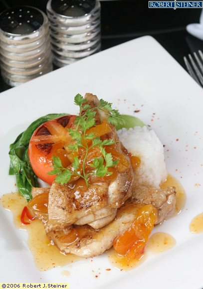 Baked Chicken Breast With Tomato Tarragon Sauce by