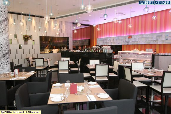 Abof restaurant and tea lounge interior