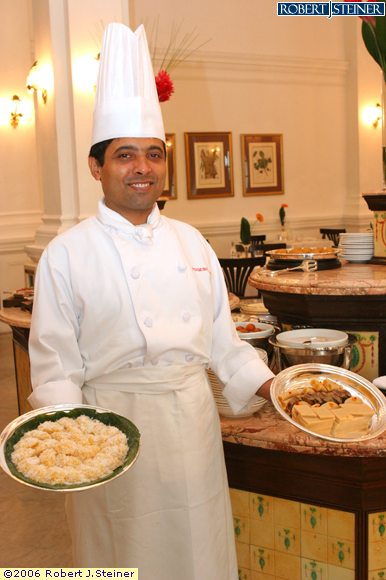 Tiffin room chef de cuisine yogesh arora 2 - What is a chef de cuisine ...