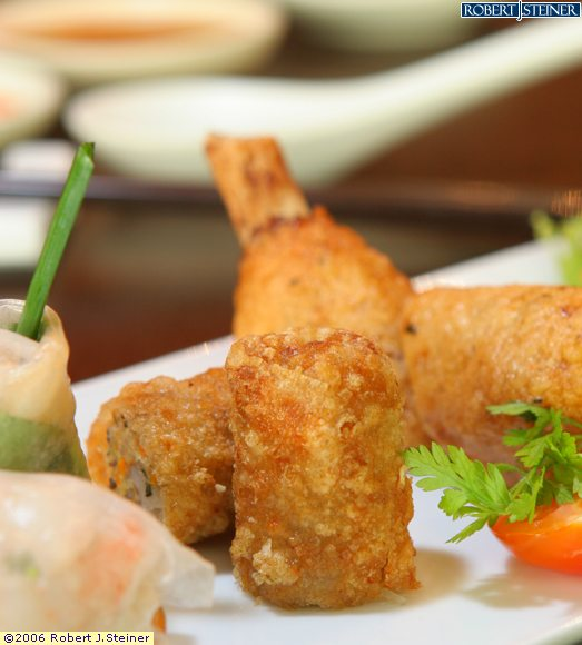 Deep-Fried Spring Roll by