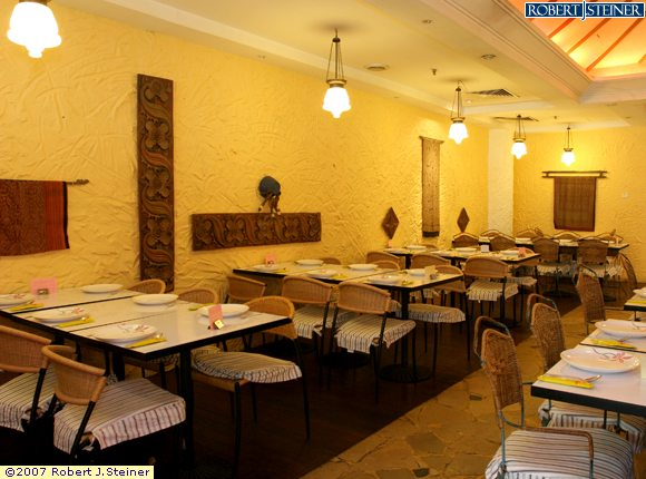 House of sundanese food restaurant interior