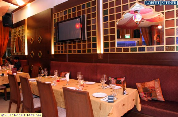 Sanobar restaurant interior